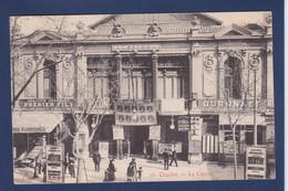 CPA Absinthe Premier Fils Sur Casino Cinéma Toulon Circulé - Advertising