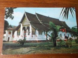 Laos  Pagode Wath Ong Tu Ventiane écrite TBE Photo Bountiou - Laos