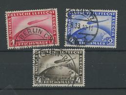 1930 Zeppelins. Ø. Cote Yv.165,-€ - Gebruikt