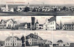 78339- Allersberg In Mittelfranken Mit Gesellenhaus Und Spital 1912 - Allersberg
