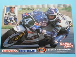 ANTON MANG - HONDA Michelin ( Rallye Sport Racing Team ) Anno 19?? ( Zie / See / Voir Photo ) ! - Motociclismo
