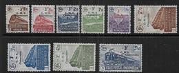 Colis Postaux  Série N° 191 à 199 * -  Cote : 135 € - Ungebraucht