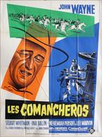- Comancheros (Les) 1962  - Affiche Originale De Cinéma - Wayne John - Manifesti