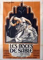 - Noces De Sable (Les) 1948 - Affiche Originale De Cinéma -   ZWOBADA   B - Manifesti
