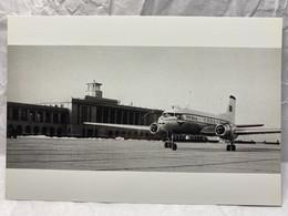 The Apron, Airplane, Plane, CAAC Airline, Beijing International Airport, China Postcard - 1946-....: Modern Era