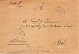 Cover Marine Schiffspost MSP 77 1.12.1903 AKS Kaiserliche Marine Reserve Helgoland - Covers & Documents