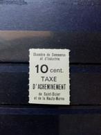 FRANCE.1968.  Timbre De Grève ST DIZIER N°8 .  NEUF SANS Charnière. Signé Calvés . Côte YT 2020 : 100,00 €. - Grève