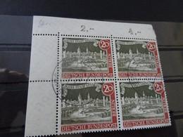 Berlin Michel 159x Eckrand Viererblock Gestempelt (8736) - Gebraucht