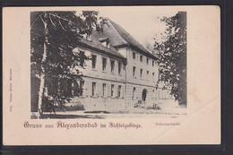 B6 /    Alexandersbad B. Wunsiedel Um 1900 - Wunsiedel
