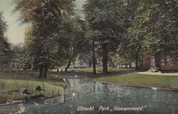 4849103Utrecht, Park Nieuweroord. 1907. (kleine Vouwen In De Hoeken) - Utrecht