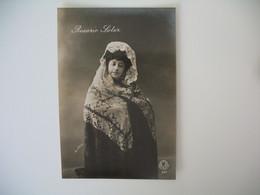 CPA Espagne Artiste  - Tajeta Fotografica -  Artiste  Rosario Soler    - Postkarte Spanien - Sonstige