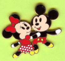 Pin's BD Disney Mickey Minnie Dansent - #269 - Disney