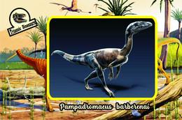 Set 5 Cartes Postales, Animaux Prehistoriques, Triassic Dinosaurs (11) - Andere