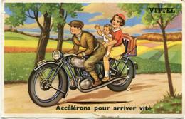 VITTEL   -  CARTE à SYSTEME - '' ACCELERONS POUR ARRIVER VITE  ''  - - Vittel Contrexeville