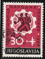 YOUGOSLAVIE 1956 O - Usados
