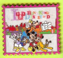 Gros Pin's BD Disney Mickey Minnie Donald Daisy Pluto Dingo (Format Timbre) - #272 - Disney