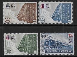 Colis Postaux   N° 226A à 229A *   -  Cote : 28 € - Mint/Hinged