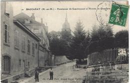 54  Baccarat  -  Pensionnat De  Gondrecourt  Et Montee De Deneuvre - Baccarat