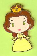 Pin's BD Disney Belle Collection De Bijoux Princesses (La Belle Et La Bête) Pierre Du Rhin - #277 - Disney