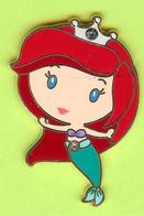 Pin's BD Disney Ariel Collection De Bijoux Princesses (La Petite Sirène) Pierre Du Rhin - #278 - Disney