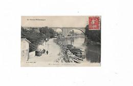 Nogent Sur Marne En 1909..La Marne Pittoresque..Le Quai Et Viaduc..Voir Scan. - Nogent Sur Marne