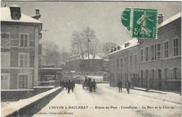 54  Baccarat  -   Entree Du Pont - Cristalleries - Le Parc Et Le Chateau - Baccarat