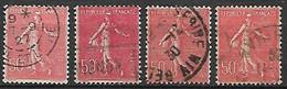 FRANCE    -    1924 . Y&T N° 199 Oblitérés.  Nuances - 1903-60 Sower - Ligned