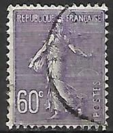 FRANCE    -    1924 . Y&T N° 200 Oblitéré - 1903-60 Sower - Ligned
