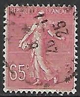 FRANCE    -    1924 . Y&T N° 201 Oblitéré - 1903-60 Sower - Ligned