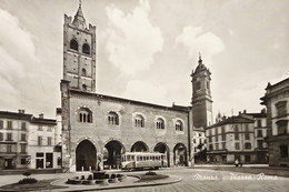 Cartolina - Monza - Piazza Roma - 1957 - Milano (Milan)