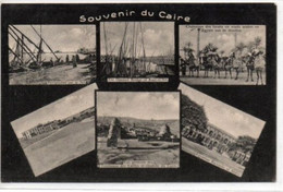 Le Caire- Souvenir Six Vues - Caïro