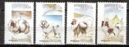 Nederlandse Antillen NVPH 1030-33 Honden 1993 MNH Postfris - Curazao, Antillas Holandesas, Aruba