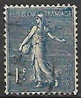 FRANCE    -    1924 . Y&T N° 205 Oblitéré - 1903-60 Sower - Ligned