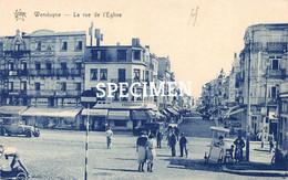 La Rue De L'Eglise - Wenduine - Wenduyne - Wenduine