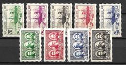 Algérie Maury N° 145/148 Et N° 149/153 Neufs ** MNH. TB. A Saisir! - Unused Stamps