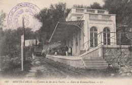 Monte-Carlo - Chemin De Fer De La Turbie - Gare De Riviera-Palace - Monte-Carlo