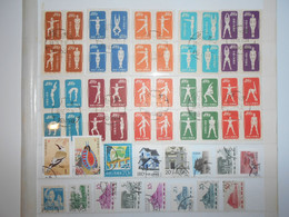 Chine Lot De 50 Timbres Obliteres - Collections, Lots & Series