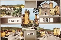 Cartolina - Saluti Da Busca (Cuneo) - Vedute Diverse - 1967 - Cuneo
