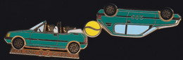 71608- Pin's-automobile.Peugeot.Tennis.Roland Garros.signé Arthus Bertrand Paris. - Arthus Bertrand