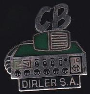 71611- Pin's-société Dirland.Saint-Dizier .Haute-Marne.. Matériel CB - Marche