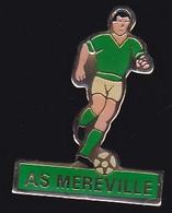 71624- Pin's-Football.Méréville.Essonne En Région Île-de-France. - Calcio
