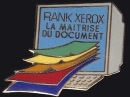 71626- Pin's-Rank Xérox Lons Matériel De Photocopieurs, De Reprographie - Informatica
