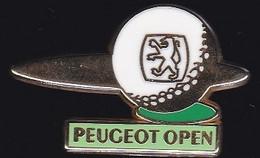 71633- Pin's-Peugeot.open De Golf.signé Arthus Bertrand Paris. - Arthus Bertrand