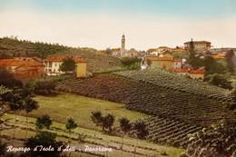 Cartolina - Repergo Di Isola D'Asti - Panorama - 1964 - Asti