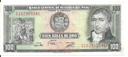 PEROU 100 SOLES DE ORO 1975 UNC P 108 - Peru
