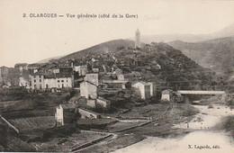 DE 7 -(34) OLARGUES  -  VUE GENERALE ( COTE DE LA GARE )  -2 SCANS - Otros Municipios