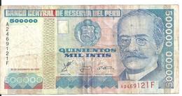 PEROU 500000 INTIS 1988 VG++ P 146 - Pérou