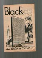 Livre Ancien Bd BLACK BOY DANS L'OMBRE DE L'ONU EDI EUROP - Prime Copie