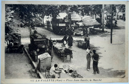 115  LA VALETTE (Var) - Place Jean-Jaures, Le Marché - La Valette Du Var