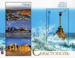 Ukraine - 2021 - Sevastopol City And Port - Mint Souvenir Sheet - Ucraina